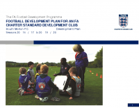 Club Development Plan