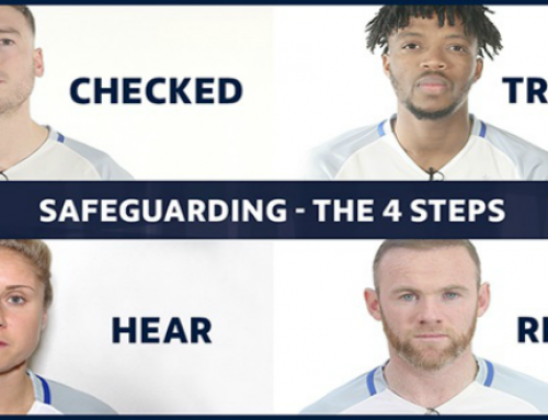 Safeguarding – The Four Steps by The FA & NSPCC